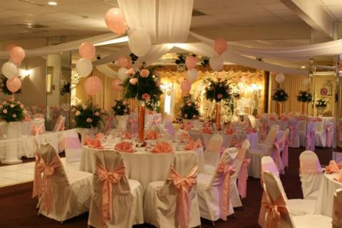 Quinces sweet sixteens princess ballrooms for Balloon decoration ideas for sweet 16